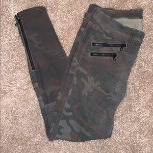 Rag & Bone Leather RBW 23 Camo Pants